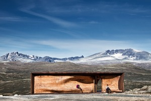 Tverrfjellhytta - Norwegian Wild Reindeer CentrePavilion
