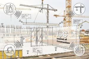 IoC- Informationsnetzwerke zur unternehmensübergreifenden<br />Kollaboration in den Fertigungsketten des Bauwesens, gefördert von BMBF (02P17D081)<br />