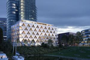 Jedes Gebäude als Materiallager verstehen – HPP wollen mit dem Pilotprojekt The Cradle in Düsseldorf ein erstes Zeichen setzen