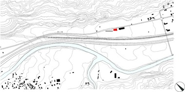 Lageplan, M 1 : 20000