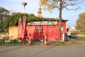 Imbissbude als Ess-Kultur-Hütte