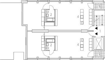 Grundriss 1.Obergeschoss, M 1:333,33