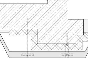 02 Horizontalschnitt Fassadenpfeiler mit Fensterlaibungen