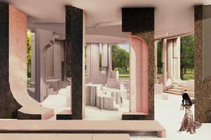 Serpentine Pavilion 2020, Innenansicht
