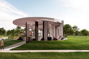 Serpentine Pavilion 2020, Außenansicht
