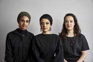 Amina Kaskar, Sumayya Vally und Sarah de Villiers von Counterspace