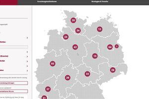 Das sind sie: die zurzeit gelisteten KI Projekte in Deutschland