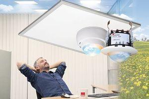 Eine HCL-Lichtregelung erhöht des Wohlbefinden der Raumnutzer