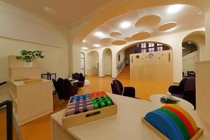 Anerkennung: Kita Königin Luise, Herne Architektur: Wallmeier Stummbillig Planungs-GmbH, Herne; Stadt Herne - FB 26 Gebäudemanagement; Innenarchitektur: Wallmeier Stummbillig Planungs-GmbH, Herne
