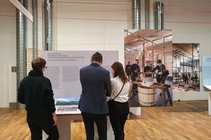 Die Ausstellung veranschaulicht die Projekte mit großformatigen Bilderzählungen, Modellen und Objekten, Filmen und lassen die beteiligten zu Wort kommen