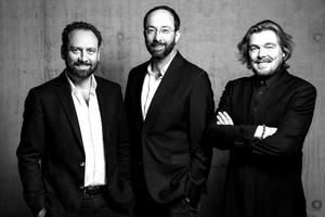 """GRAFT Gesellschaft von Architekten mbHGründungspartner Thomas Willemeit, Wolfram Putz, Lars Krückeberg (v.l.n.r.)<span class=""""info_link"""">www.graftlab.com</span>"""