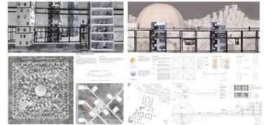 """Fachsparte Architektur: """"Die fliegende Stadt"""": Schinkel-Preis Christian Rapp (HS Augsburg)"""