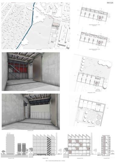 """Fachsparte Architektur: """"La Fabrique"""": Sonderpreis, gestiftet von Heinz Diesing über die Karl-Friedrich-Schinkel-Stiftung des AIV Carsten Sgraja (FH Potsdam)"""