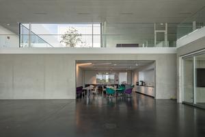 Die Cafeteria des Neubaus<br />