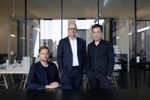 Morger Partner Architektenv.l.: Martin Klein, Meinrad Morger, Henning Königwww.morgerpartner.ch