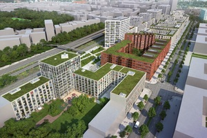 Das Quartier Heidestrasse in der Europacity in Berlin ist aktuell das größte Entwicklungsprojekt der Hauptstadt und wird seinen Bewohnern vielfältig vernetzte Lebenswelten bieten