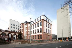 Sollte Nukleus fürs Ganze sein: Senckenberg mit Museum (Umbau Kulka, Dresden). Die Hochhausscheibe Kramers (Juridikum) wird mit weiteren Bauten weichen müssen
