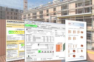 06 Mit der Planungssoftware Modul Schall 4.0 und dem neuen Wärmebrückenkatalog 5.0 bietet die Ziegelindustrie schnelle, bewährte und kostenfreie Tools für Planer