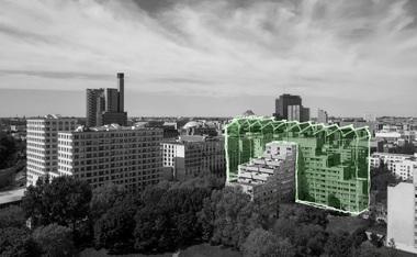 """Jing Zhao (3. Preis), TU Braunschweig, Projekt """"Green Hub"""", ldeenskizze"""