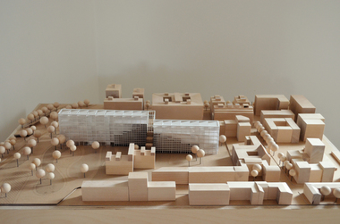 "Lenya Schneehage und Rebekka Wandt (Sonderpreis), Leibniz Universität Hannover, Projekt ""Farm X Berlin"", Modell"