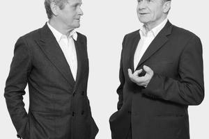 Laurids Ortner und Manfred Ortner