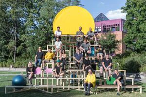 Teilnehmer der International Summer School am KIT, Karlsruhe<br />