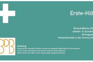 "Der ""Erste-Hilfe-Verbandskasten"" des BDB<br />"