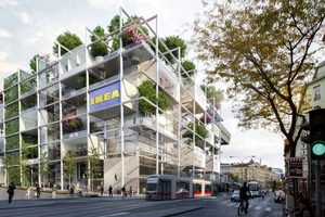 Simulation: IKEA an der Mariahilfer Straße, Wien