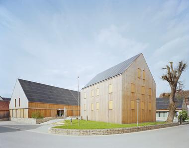 1. Preis Wettbewerb 2017: Hof 8 (Architekturbüro Klärle)