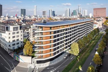 2. Preis Wettbewerb 2017: Aktiv-Stadthaus, Frankfurt/M. (HHS Planer und Architekten)