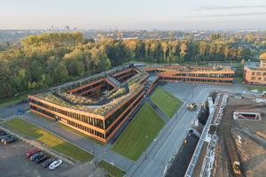 Cradle-to-Cradle-Ansatz beim RAG-Neubau auf Zollverein, Essen (kadawittfeld architektur mit Dreso)<br />