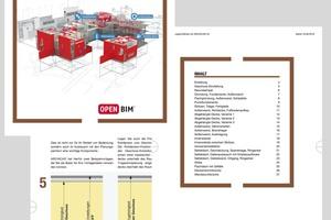 Eine Modellierungsrichtlinie ist oft eine simple, aber dennoch wichtige PDF-Datei. Wichtig ist, sie früh im Projekt einzubinden. Damit lassen sich wesentliche Standards bei der weiteren Bearbeitung setzen. Einige Softwarehersteller bieten Richtlinien an, die ArchitektInnen und PlanerInnen nutzen und individuell anpassen können