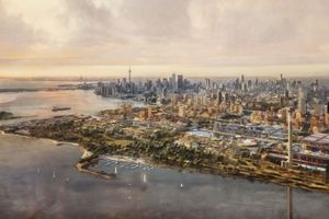 Die Stadt von morgen – so hätte die Smart City Quyside von Sidewalk Labs in Toronto aussehen sollen. In die Realität schaftt sie es nicht, vorerst