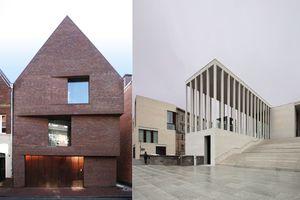 Eine Anerkennung, ein Gewinner: Wohnhaus in Münster, James Simon Galerie, Berlin