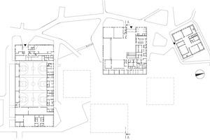 Grundriss Untergeschoss, M 1:1500