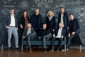 C.F. Møller Architectsdie Partner v.l.: Klaus Toustrup, Lone Wiggers, Mads Mandrup Hansen, Christian Dahle, Michael Kruse, Lone Bendorff, Mårten Leringe, Klavs Hyttel und Julian Weyerwww.cfmoller.com