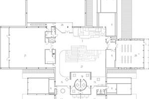 Grundriss Obergeschoss, M 1:500