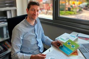 Dr. Peter Mösle, Partner bei Dreso und Geschäftsführer der EPEA – Part of Drees & Sommer, im Gespräch mit der DBZ