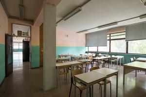Die ehemaligen Unterrichtsräume konnten vergrößert werden und erhalten heute mehr Tageslicht
