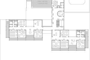 Grundriss 2. Obergeschoss, M 1:1000