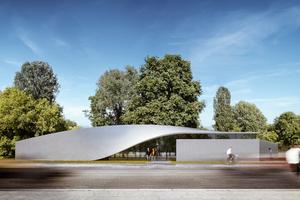 Carbonbeton in feinster Architektursprache auf dem Campus der TU Dresden: demnächst!