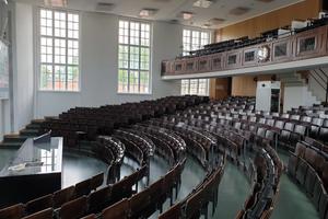 Leere Hörsäle an den Hochschulen,Carl-von-Linde-Hörsaal, TUM