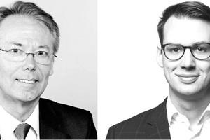 Die Autoren Axel Wunschel (links) und Jochen Mittenzwey