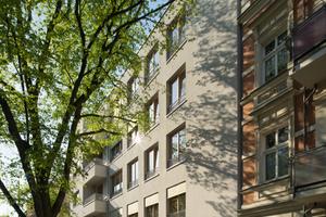 """Das Mehrfamilienhaus """"Flora 86"""" ist ein Baugruppenprojekt mit 17 Wohn- und zwei Gewerbeeinheiten in Berlin-Pankow"""