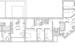 Grundriss 3.Obergeschoss, M 1:500