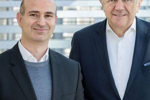 Prof. Dr. Lucio Blandini (l.) folgt Werner Sobek am ILEK