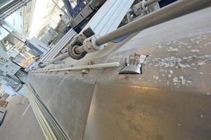 Profilierung von Glasfaserstäben.