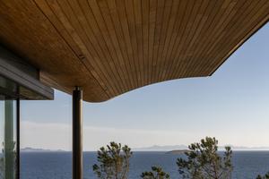 Das Dach wurde von Foster &amp; Partners als Holzkonstruktion geplant<br />