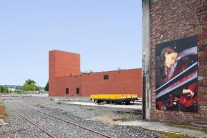 Mit 21 anderen nominiert zum DAM Preis 2021: das Eisenbahnmuseum in Bochum Dahlhausen von Max Dudler Architekten