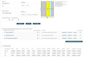 01 Der Bauteileditor ist die zentrale Komponente in eLCA und unterstützt den Anwender bei der Erfassung von Bauteilen bzw. Baukonstruktionen